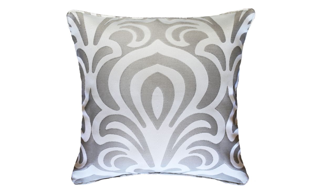 Sand Lotus Throw Pillow Cover