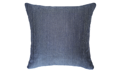 Navy Storm Half Throw Pillow Cover
