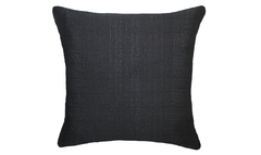 Noir Flowers Half Throw Pillow Cover