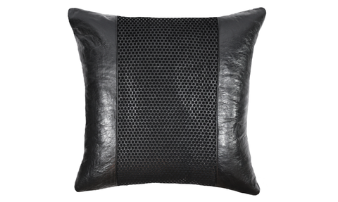 Noir No.4 Throw Pillow Cover