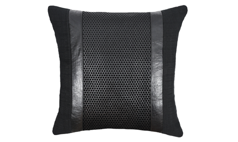 Noir No.3 Throw Pillow Cover