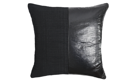 Noir No.1 Throw Pillow Cover
