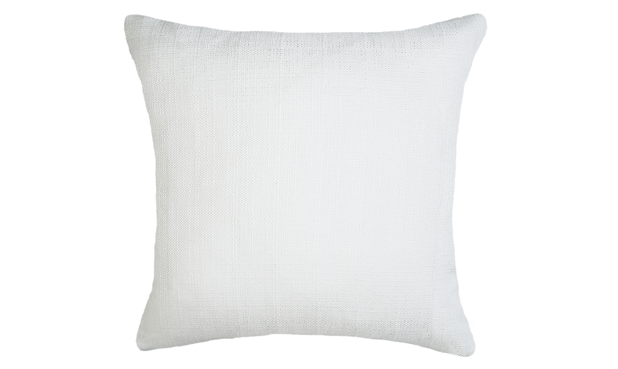 Winter Palm - Half Throw Pillow Cover