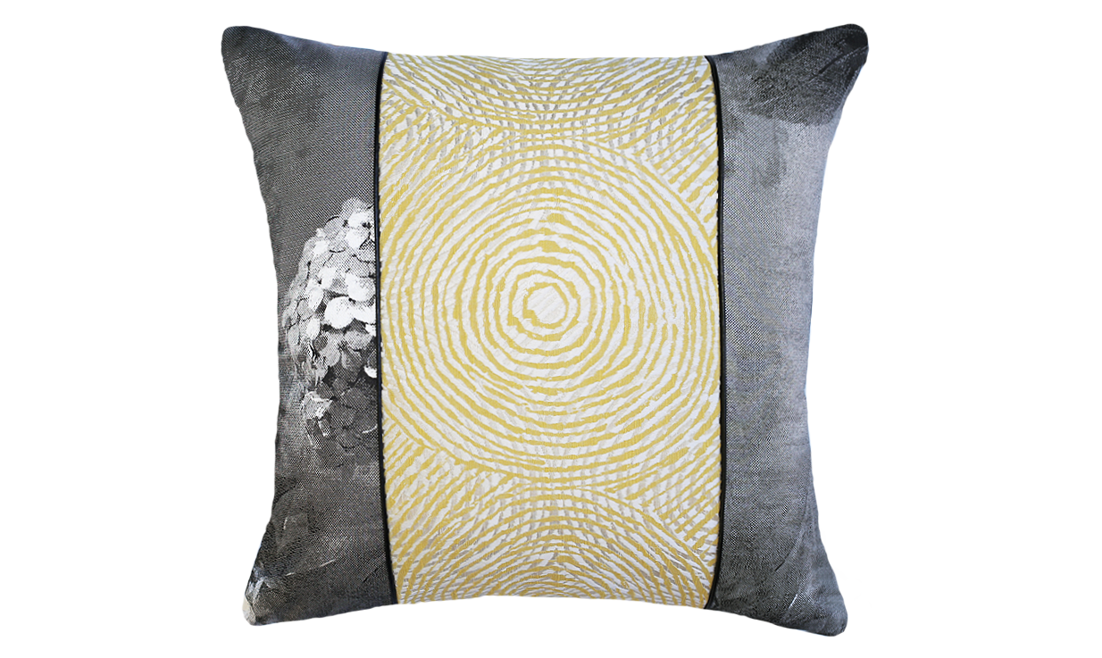 Paperwhites - Ripple Throw Pillow Cover