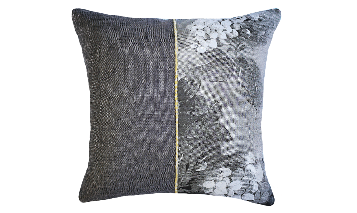 Paperwhites - Poppy Half Throw Pillow Cover