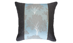Ice Trees Panel Throw Pillow Cover