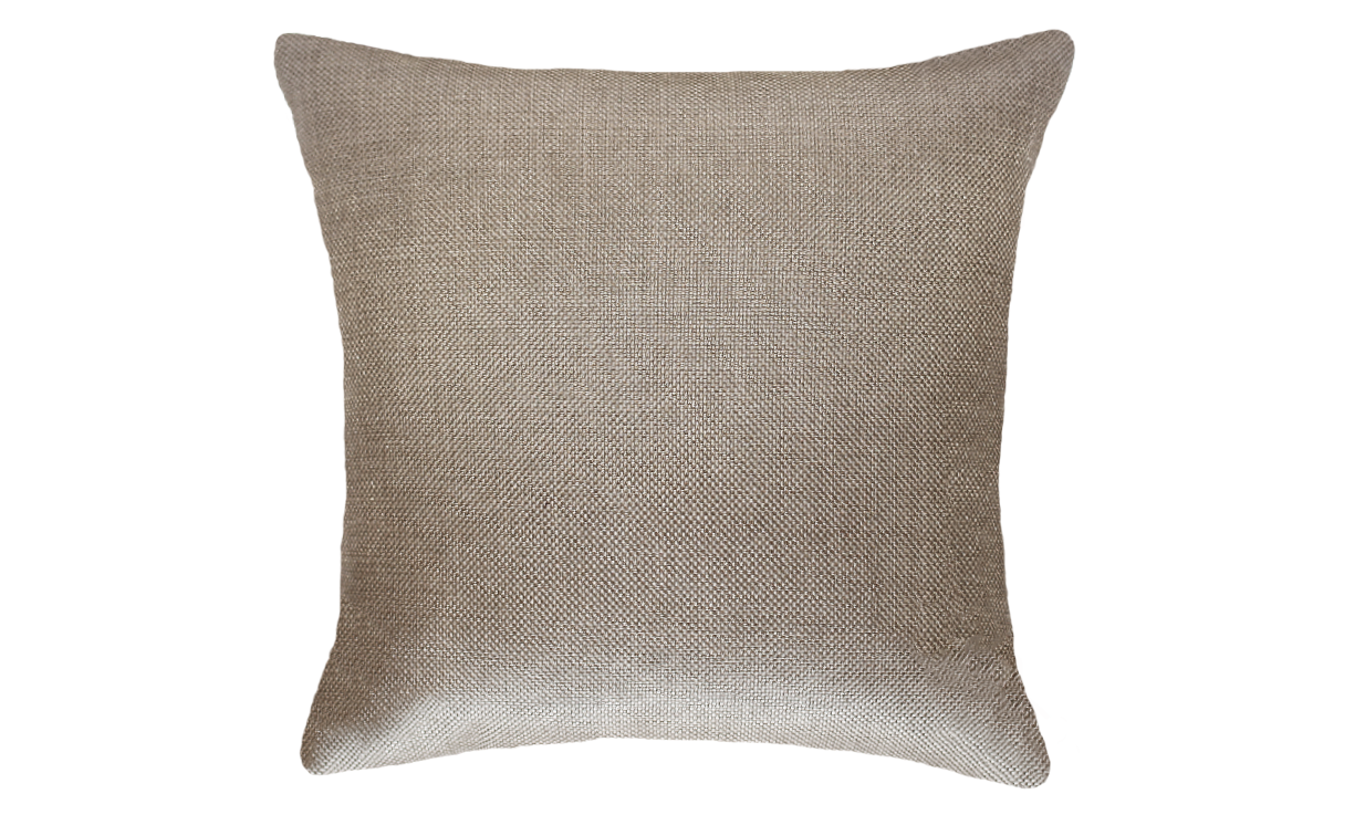 Light Mocha Damask Throw Pillow Cover