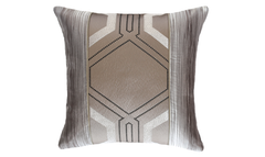 Light Deco Bark Throw Pillow Cover