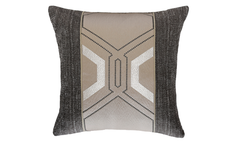 Dark Deco Throw Pillow Cover