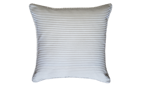 Sand Stripe Throw Pillow Cover