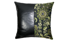 Noir Mums - Kermit Half Throw Handmade Pillow Cover