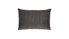 Ebony Jasmine Bark Throw Pillow Cover
