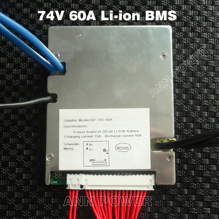 72V 60Amp Battery management System