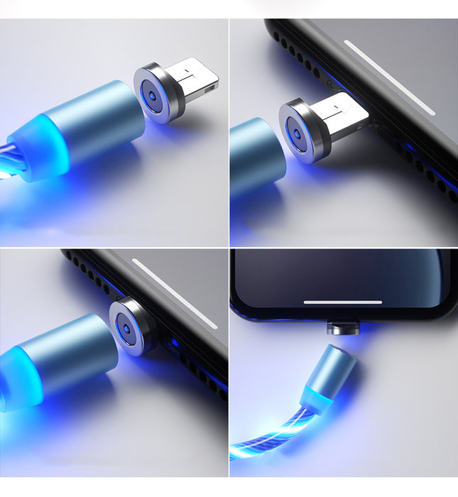 iGlo LED Magnetic USB Charging Cable - Free Shipping