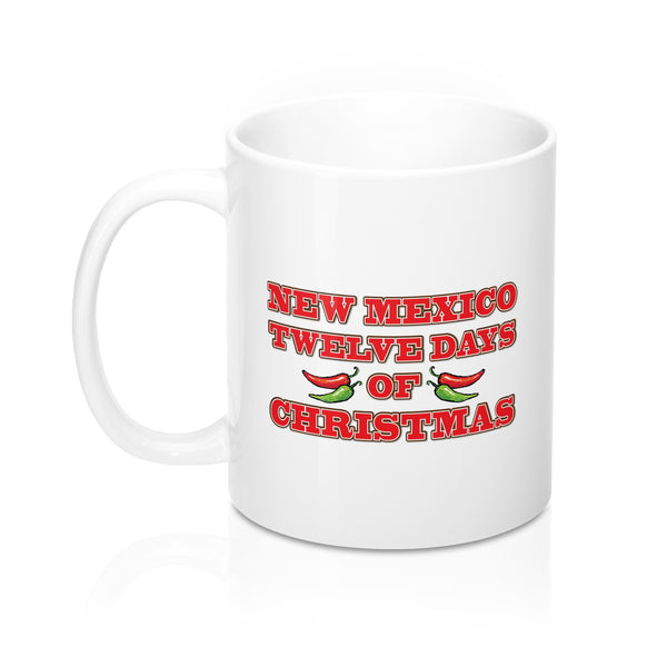 NM 12 Days of Christmas (11oz Mug)
