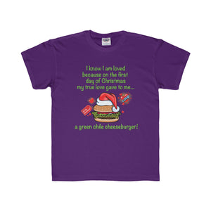 I Know I am Loved - New Mexico Twelve Days of Christmas (Youth Tee)