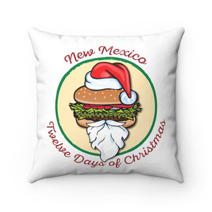 NM 12 Days Santa GCCB with Wreath (Pillow)