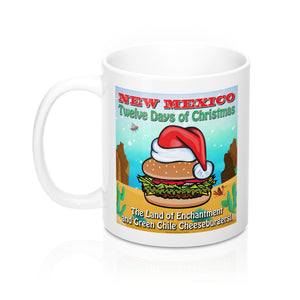 Album Cover - New Mexico Twelve Days of Christmas (11oz Mug)
