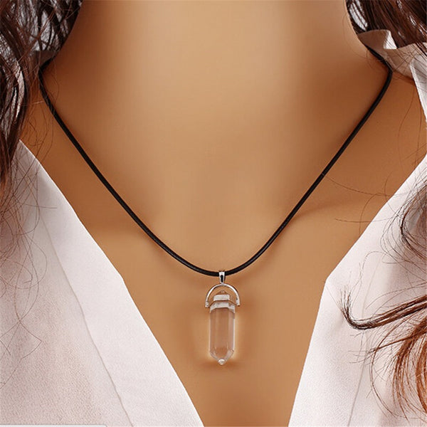 Women  Natural Stone Necklace