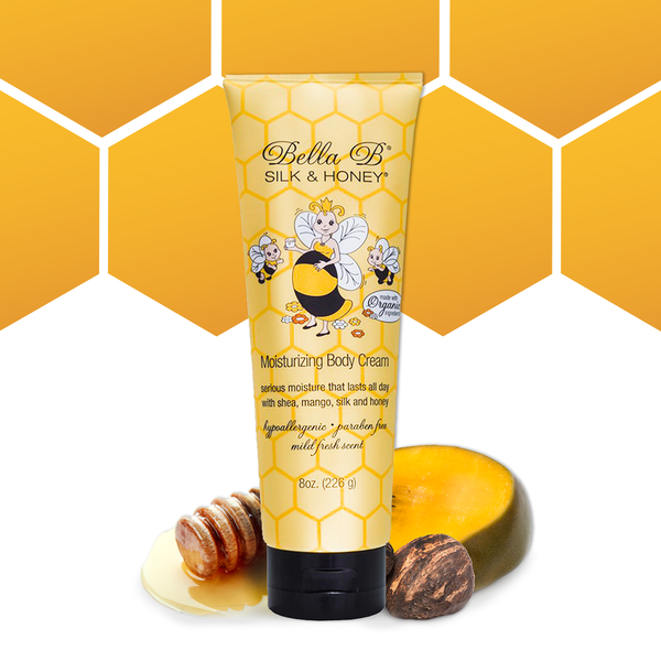 Silk and Honey Moisturizing Body Cream 8oz