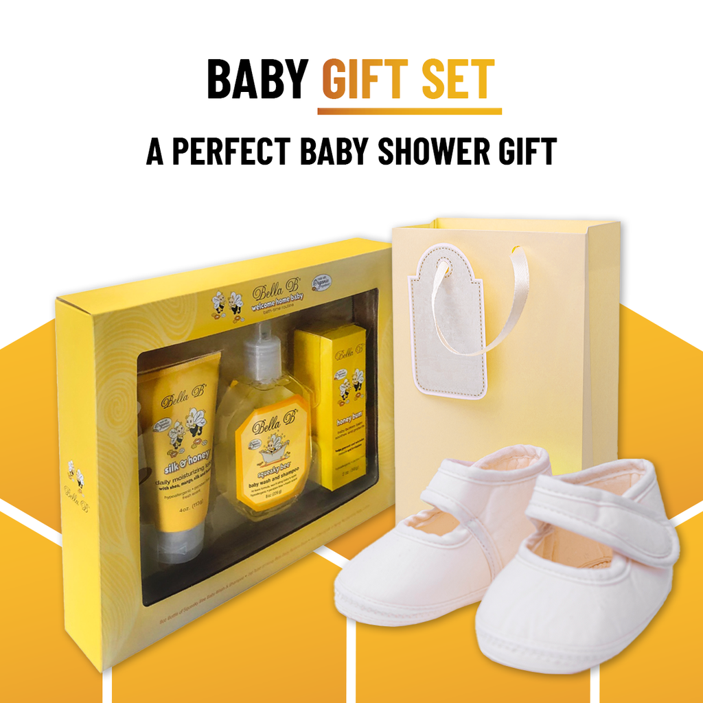 Welcome Home Baby 3 Piece Gift Set