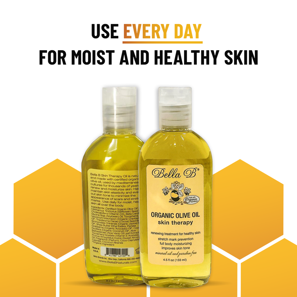 Organic Olive Oil Skin Therapy, 4.5oz Bottle