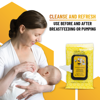Nipple Nurture Breast Wipes 24ct