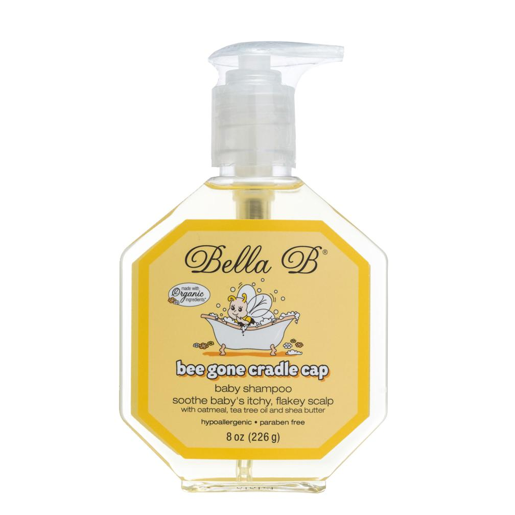 BELLA B Cradle Cap Shampoo & Cradle Cap Scalp Treatment And Conditioner - Baby Shampoo And Conditioner - Cradle Cap Shampoo For Babies - Kid Shampoo - Dry Scalp Shampoo And Conditioner For Dry Scalp