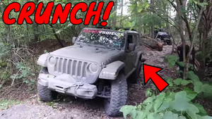 New Rubicon JL DAMAGED on trails at the Famous Reading Outdoors.