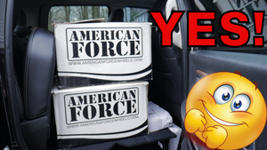I GOT AMERICAN FORCES! See how I protected them.