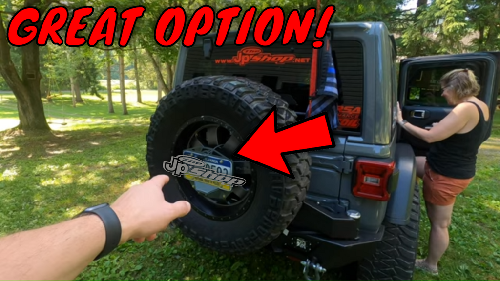 LEARN FROM MY MISTAKE Wrangler JL Complete Tag Relocation Kit & Install