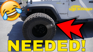 LIFTING A JEEP JK WITH ITTER BITTERS