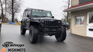 LS3 SWAPPED WRANGLER JK GETS SOME COOL UPGRADES