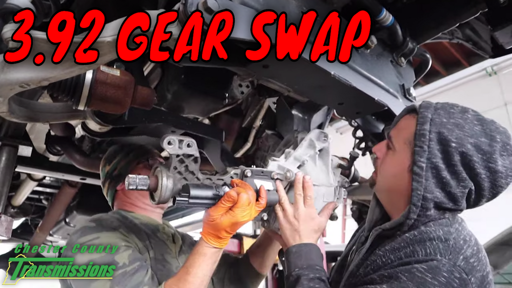 SERIOUS PROBLEM discovered during a Ram 1500 Gear Swap Installation