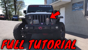 UNLOCK THE POWER! Jeep Wrangler JL Superchips Tuning Install & Trail Dash 2