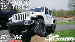 LIFT COMPLETE! LIFTED 2018 JEEP WRANGLER SAHARA JL