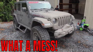 DESTROYED! How to SAFELY clean your MUDDY vehicle after OFF-ROADING