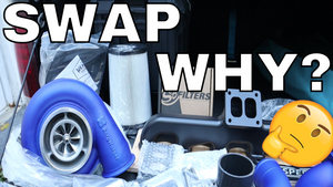 WIFE CRASHED INTO VIDEO! Wehrli Fab 2nd Gen Swap Kit Unboxing