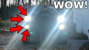 KEEP ALL LIGHTS ON! Ram Truck High Beams, Low Beams & Fogs