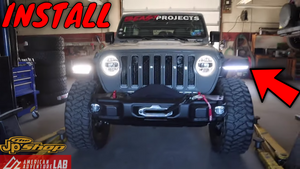 BRACE YOURSELF! Wrangler JL Fender Removal & Upgrade (High-Line Fender Brace)