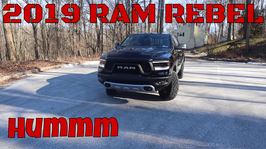 DRASTIC CHANGE 2019 Ram 1500 Rebel & Cummins Cold Start