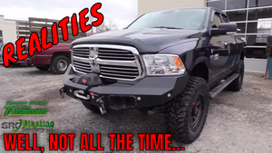 We had to swap a FLAWED Rear Axle Assembly to finish the Ram 1500 3.92 Gear Swap