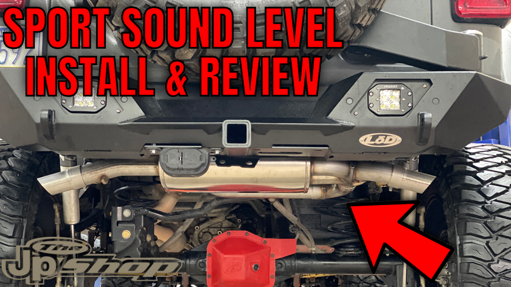"2018+ Jeep Wrangler JL Corsa 2.5"" Axle Back Exhaust Install & Review"
