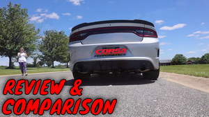 DODGE CHARGER EXHAUST COMPARISON Stock to Corsa Extreme Plus