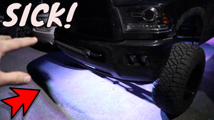 BEST RGB ROCK LIGHTS! Isspro Gauge & Lux Lighting Systems Monster RGB Install
