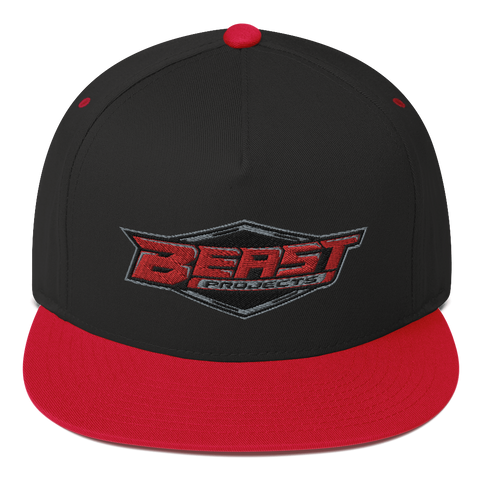 BEAST PROJECTS PATCH LOGO FLAT BRIM HAT