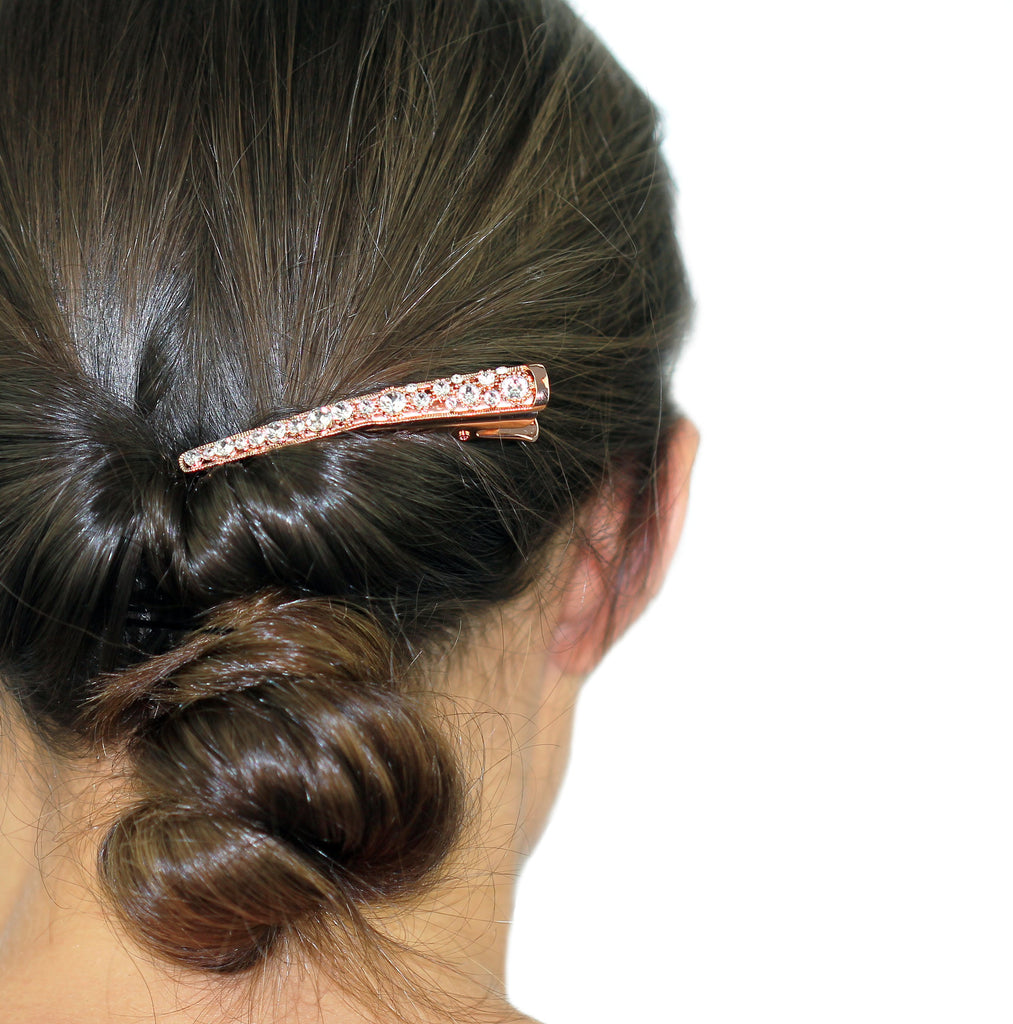 Swarovski Crystal Hair Clip- More Colors!