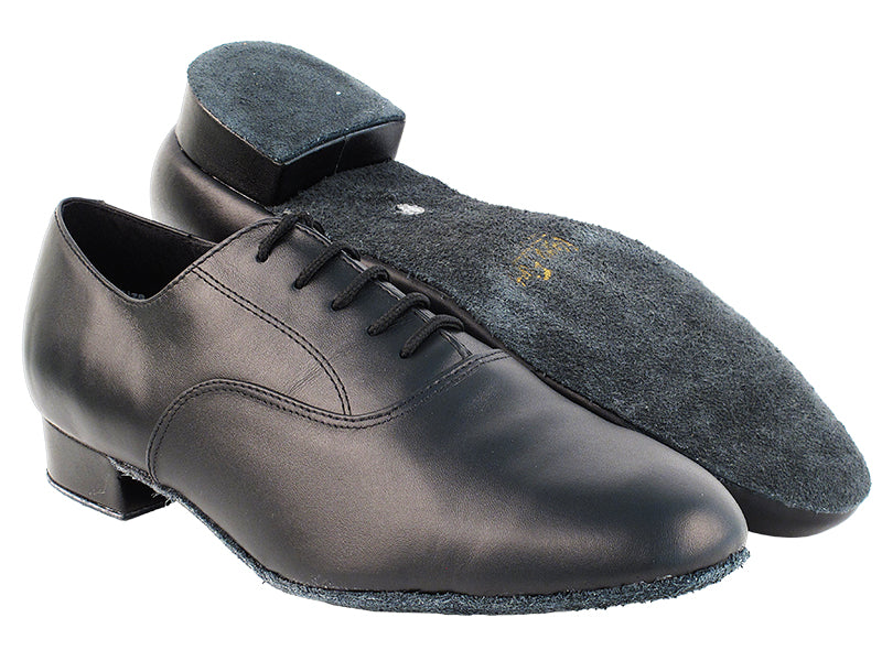 Classic Series Black Leather Ballroom Shoe