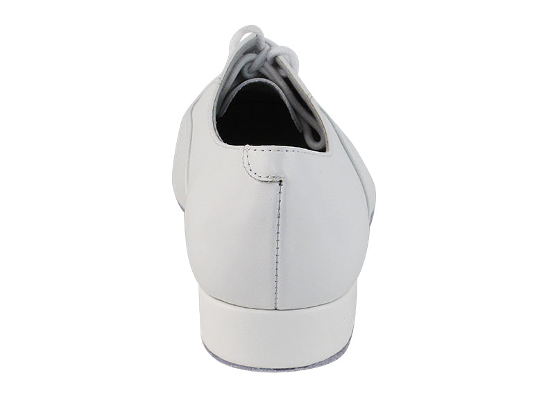 Classic Series White Leather Ballroom Shoe