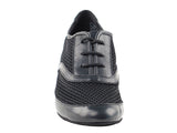 Competitive Dancer Series- Black Leather & Mesh Practice Shoe